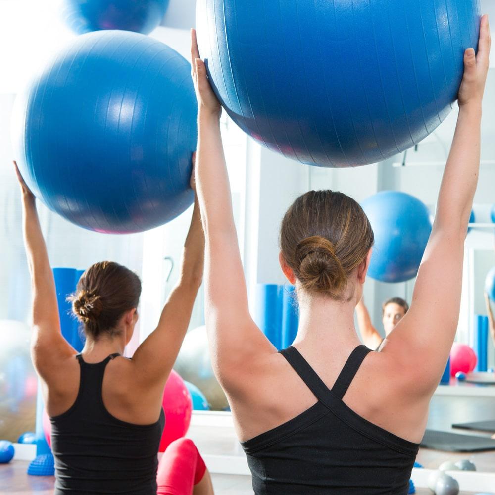 Pilates ballon