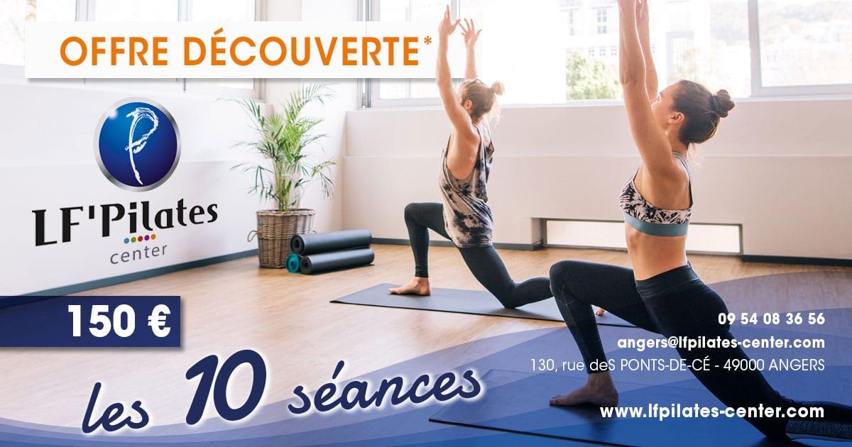Offre découverte - LF' Pilates Center Angers