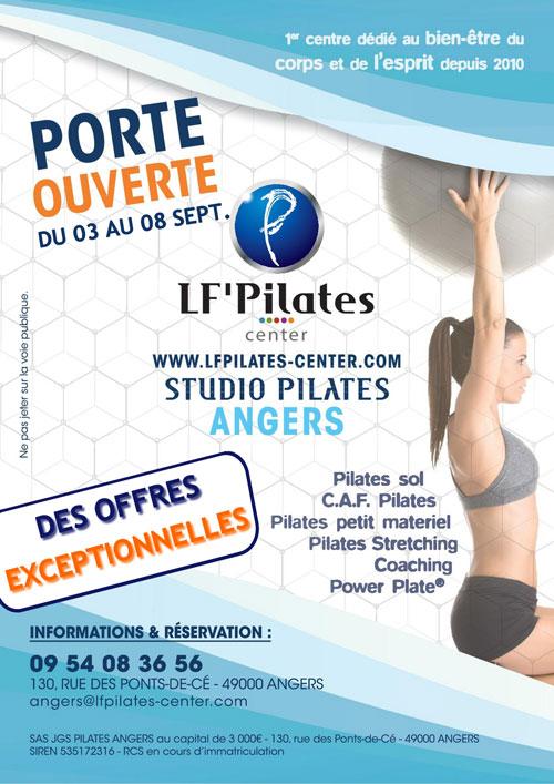 SD - Porte ouverte LF Pilates Center Angers